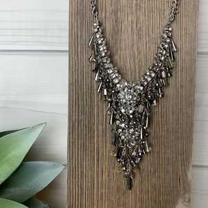 Glamorous convertible Crystal Necklace Tribeca